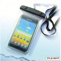 Quality Fashionable plastic pvc mobile phone waterproof pouch for sale
