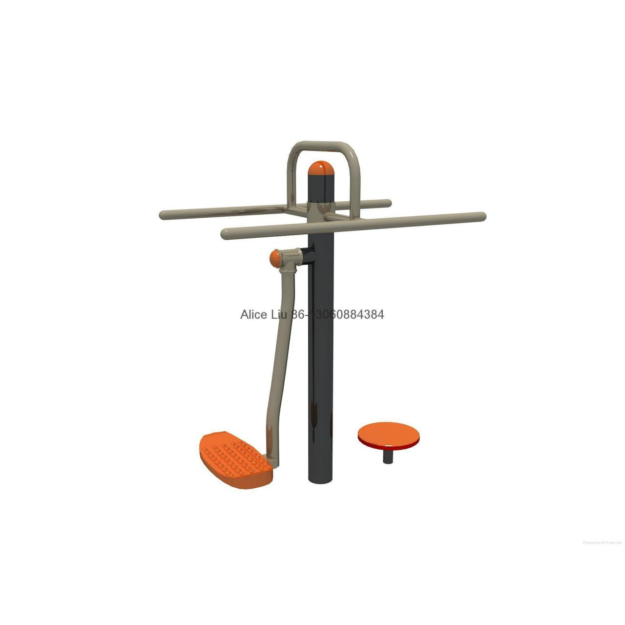 Swing waists device outdoor fitness exercise equipment