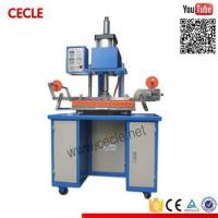 Quality GP-300 pneumatic semi automatic paper hot emboss machine for sale