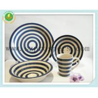 Quality Ceramic dinnerware 16PC hand paint set for sale