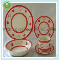 Quality Ceramic dinnerware 20pcs handpainted set for sale