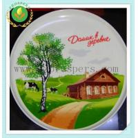 Buy cheap Porcelain dinnerware Pizza plate from wholesalers
