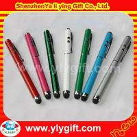 Buy cheap stylus pen torch light touch pen with laser pointer PE-00156 from wholesalers