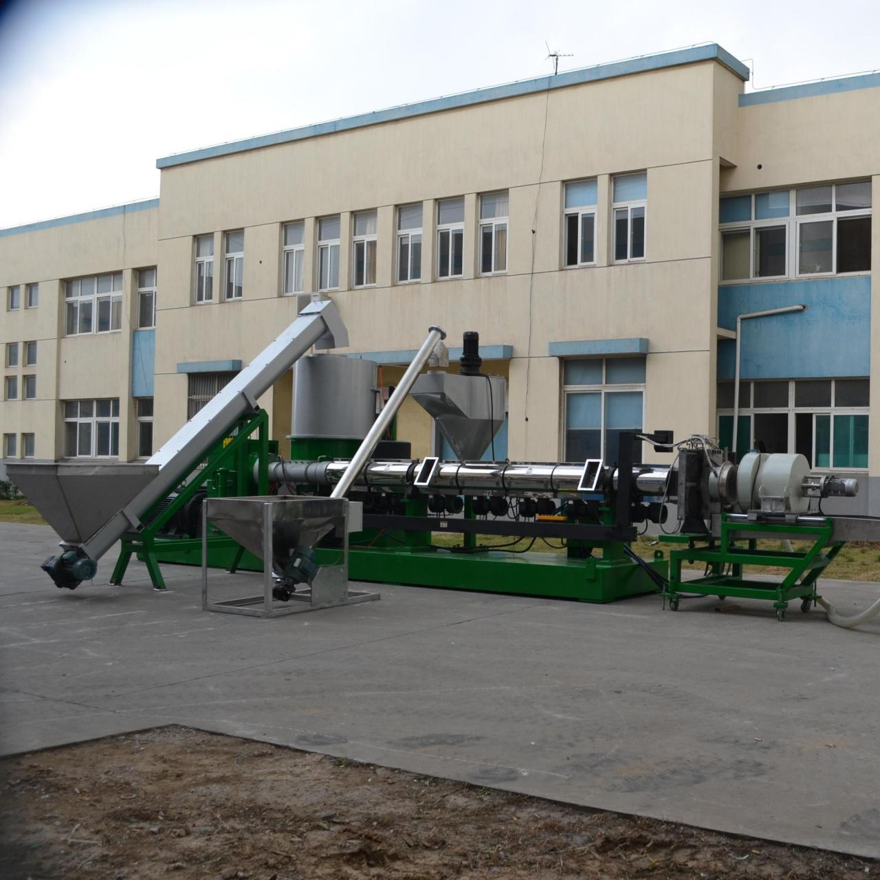 Buy cheap Plastic extrusion granulation machine with crusher product