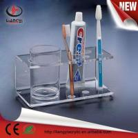 Buy cheap acrylic toothbrush display/acrylic toothbruch stand from wholesalers