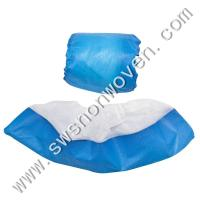 Disposable PP+CPE non-skid shoes cover