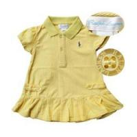 Quality BJ-D013-P - Ralph Lauren Polo Yellow Dress - 1 piece for sale
