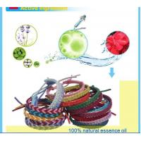 Leather mosquito repellent bracelets AMB04