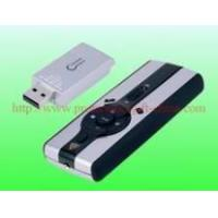China 2.4GHz wireless laser presenter/smart pointer with multi-media mouse function on sale