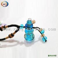 Quality Glass Oil Perfume Bottle Pendant Necklace for sale