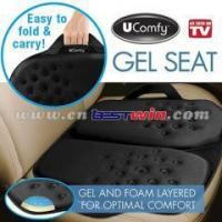 Quality AS SEEN ON TV Ucomfy Portable Gel Car Seat/ Car Seat /GEL SEAT for sale