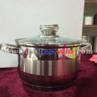 Buy cheap AS SEEN ON TV 5 Layer Copper Bottom Stainless Steel Cookware for Wholesale/Retailer from wholesalers
