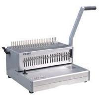 China Manual Comb Binding Machine Heavy duty Plastic comb binding machine 14 inch (CB360) on sale