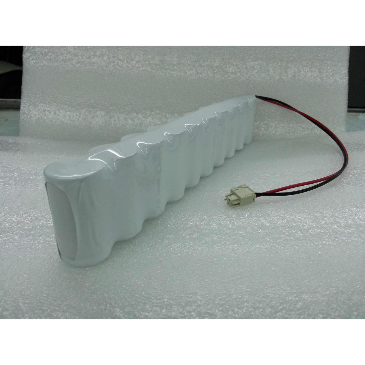 Quality Ni-Cd Sub C 1800mAh 12v Rechargeable Battery Pack for sale