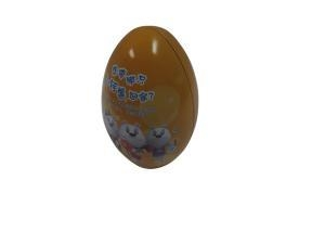 Buy Egg Shape Decorative Tin Containers at wholesale prices