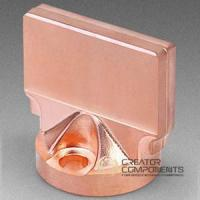 China C22000 Bronze Cold Forging Machined Hardware on sale