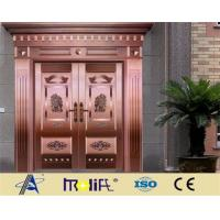 Beautiful, high-quality villa copper door