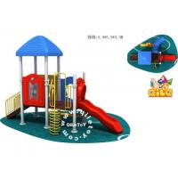 Quality QL-D052 plastic Castle Outdoor Playground For Children for sale