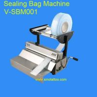 China Disposable Tattoo Tubes Roll Pouch Sealing Machine on sale