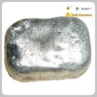 Quality Silvery white high purity 99%-99.9% proper price cerium Metal ingot for metallurgy for sale
