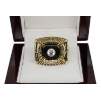China 1975 Super Bowl X Pittsburgh Steelers Championship Ring 6.5 on sale