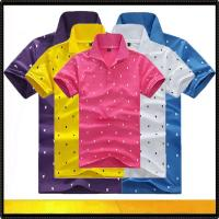 Quality Polo shirts Fashion design men's polo t-shirt for sale