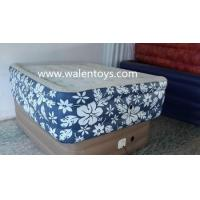 China PVC air bed,air mattress,inflatable bed for sale on sale