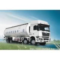 China SHACMAN CNG/LNG Bulk cement trucks & Shaanxi CNG/LNG All-terrain Truck on sale