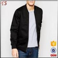 Quality Manufacturer printing custom clothing man apparel bomber jacket wholesale for sale