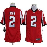 Buy cheap Nike Falcons #2 Matt Ryan Red Team Color Men's Stitched NFL Game Jersey from wholesalers