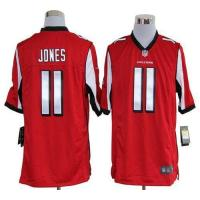 Buy cheap Nike Falcons #11 Julio Jones Red Team Color Men's Stitched NFL Game Jersey from wholesalers