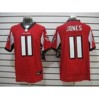 Buy cheap Nike Falcons #11 Julio Jones Red Team Color Men's Stitched NFL Elite Jersey from wholesalers