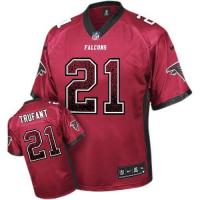 Buy cheap Nike Falcons #21 Desmond Trufant Red Team Color Men's Stitched NFL Elite Drift Fashion Jersey from wholesalers