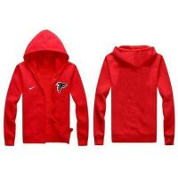 Quality Nike Atlanta Falcons Authentic Logo Hoodie Red for sale