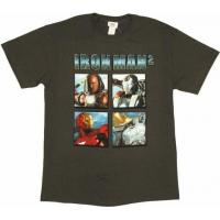 Quality Iron Man 2 Faces T-Shirt for sale
