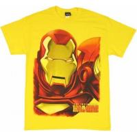 Quality Iron Man Close Up T Shirt for sale