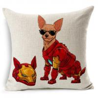 Quality Avengers Style Pet Cushion Cover for sale