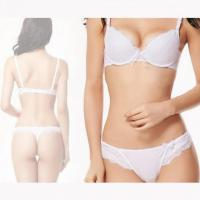 Buy cheap Women's Openwork Solid Color Bra With Sexy Thong. from wholesalers