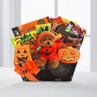China Pumpkin Delight Halloween Basket NO.17 deliver gift to shanghai on sale