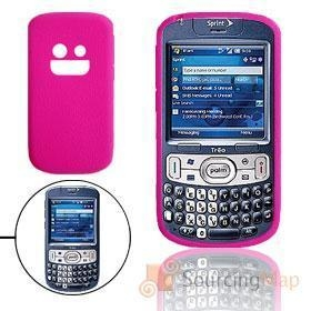 China Hot Pink Silicone Mobile Phone Case for Palm Treo 800W Silicone Skins