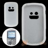 Quality Clear White Silicone Case for Palm Treo 800W Silicone Skins for sale