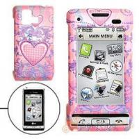 Buy cheap Hard Plastic Case with Pink Heart Pattern for LG VX9700 Cell Phone Cases product