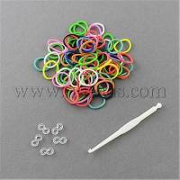 Quality Hottest Colorful Loom Kits Rubber Bands Bracelet DIY Refills...(X-DIY-R001-01) for sale
