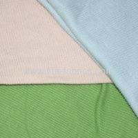 Quality 100%cotton dyed knitting 2x2 or 1*1 Rib fabric for sale