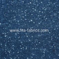 China Coarse knitted fabric made like snow