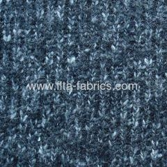 China Coarsely Knitted Fabric blended of wool/acrylic/cotton