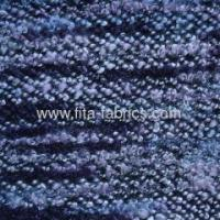 Quality Colorful looped fabric made of fancy yarn for sale