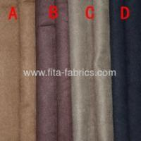 Quality 100% polyester synthetic suede plain dyed for sale