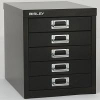 China Art & Office Products Bisley 5-Drawer Desktop Multidrawer Cabinet on sale