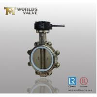 Quality LUG TYPE CONCENTRIC BUTTERFLY VALVE WITH PIN for sale
